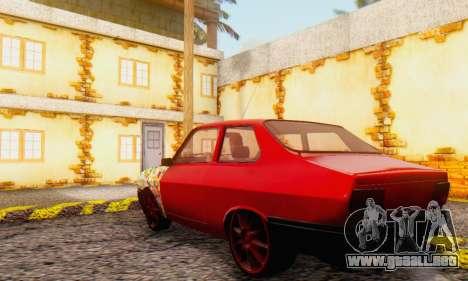 Dacia 1310 Sport Tuning v2 para la visión correcta GTA San Andreas