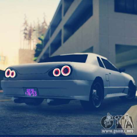 Elegy by Scop & Milky para GTA San Andreas left