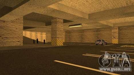 Nuevas texturas de Aparcamiento en la LSPD para GTA San Andreas sexta pantalla