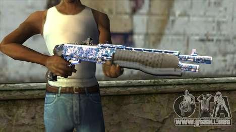 Graffiti Shotgun v2 para GTA San Andreas tercera pantalla
