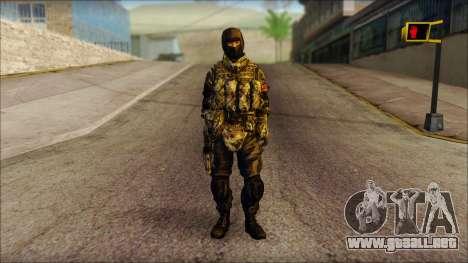 MG from PLA v2 para GTA San Andreas