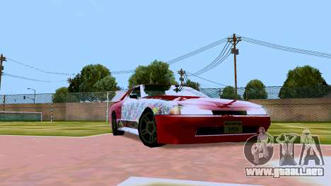 Elegy OnDrift para GTA San Andreas left