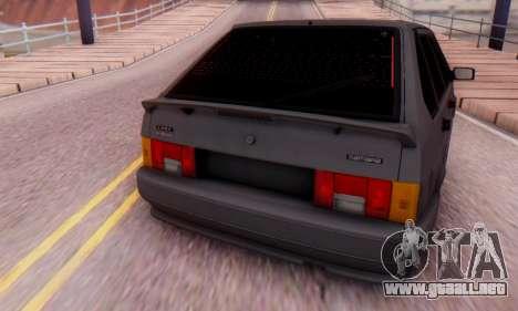 VAZ 2114 para la visión correcta GTA San Andreas