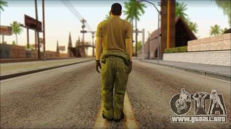 GTA 5 Soldier v1 para GTA San Andreas segunda pantalla