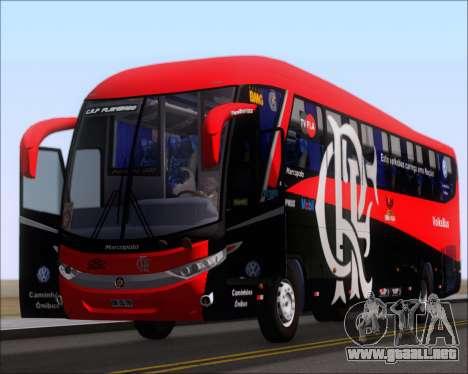 Marcopolo Paradiso 1200 G7 4X2 C.R.F Flamengo para visión interna GTA San Andreas