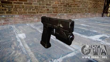 Pistola Glock 20 de fantasmas para GTA 4