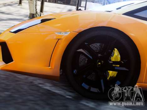 Lamborghini Gallardo LP560-4 para GTA 4 Vista posterior izquierda