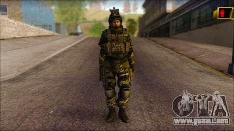 Los soldados de la UE (AVA) v1 para GTA San Andreas