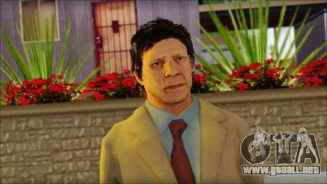 GTA 5 Ped 5 para GTA San Andreas tercera pantalla