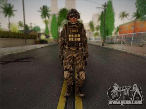 Боец СВР (Tom Clancy Splinter Cell) v1 para GTA San Andreas