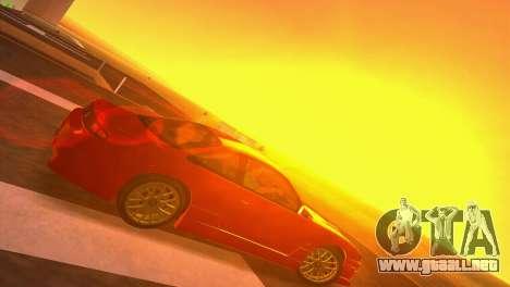 Nissan Silvia S14 RB26DETT Black Revel para GTA Vice City visión correcta