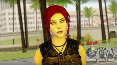 Tomb Raider Skin 14 2013 para GTA San Andreas tercera pantalla