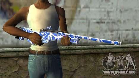 Graffiti Rifle para GTA San Andreas tercera pantalla