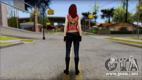 Claire Aflterlife Skin para GTA San Andreas segunda pantalla