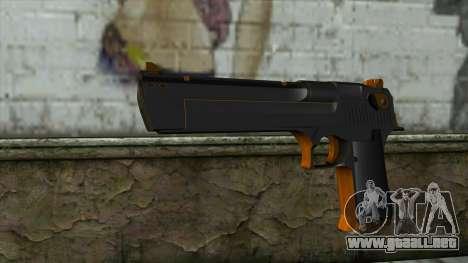 Nitro Desert Eagle para GTA San Andreas