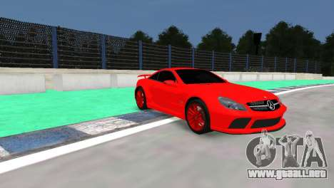 Mercedes Benz SL65 AMG Black Series para GTA 4 left