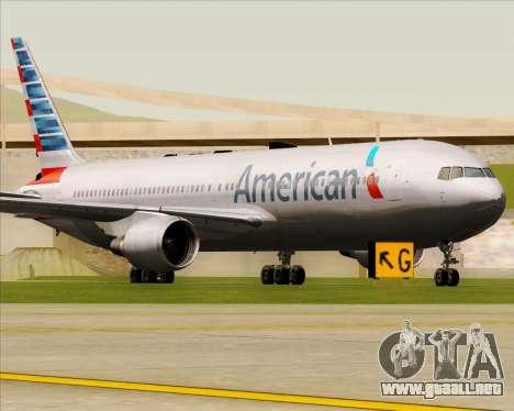 Boeing 767-323ER American Airlines para GTA San Andreas left