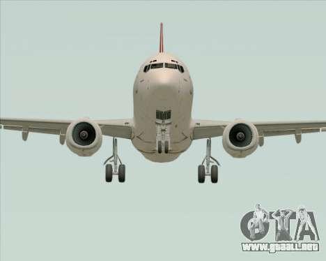 Boeing 737-838 Qantas para visión interna GTA San Andreas