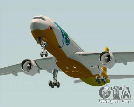Airbus A330-300 Cebu Pacific Air para vista lateral GTA San Andreas