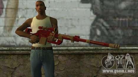 Sniper Rifle from PointBlank v1 para GTA San Andreas tercera pantalla