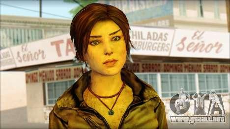 Tomb Raider Skin 6 2013 para GTA San Andreas tercera pantalla
