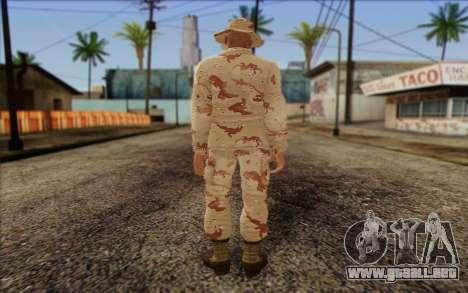 California National Guard Skin 1 para GTA San Andreas segunda pantalla