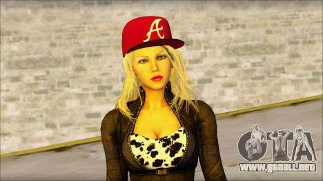 Eva Girl v2 para GTA San Andreas tercera pantalla