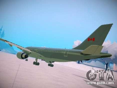Canadian Forces Airbus CC150 Polaris para la visión correcta GTA San Andreas