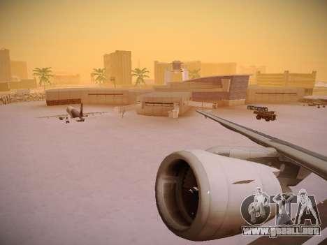 Airbus A320-214 LAN Airlines para las ruedas de GTA San Andreas