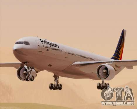 Airbus A330-300 Philippine Airlines para GTA San Andreas