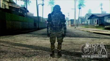 Los soldados aerotransportados (CoD: MW2) v3 para GTA San Andreas segunda pantalla