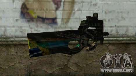 P90 from PointBlank v1 para GTA San Andreas segunda pantalla