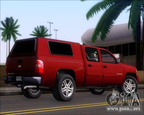 Chevrolet Silverado 2011 para la visión correcta GTA San Andreas