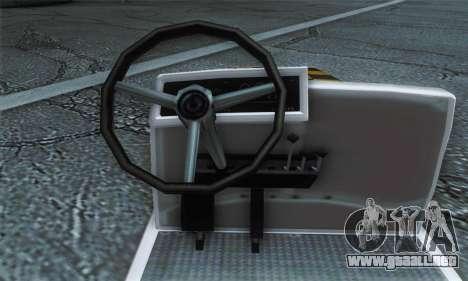 Airtug FlyUS (IVF) para GTA San Andreas vista posterior izquierda