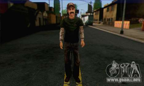 Kenny from The Walking Dead v1 para GTA San Andreas