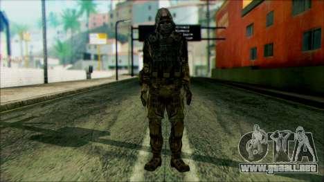 Un soldado del team 4 Phantom para GTA San Andreas