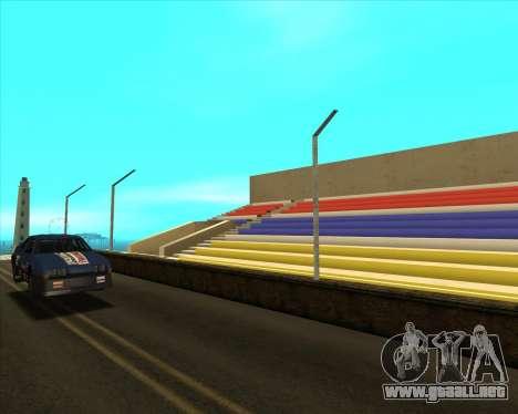 Sky Road Merdeka para GTA San Andreas sucesivamente de pantalla