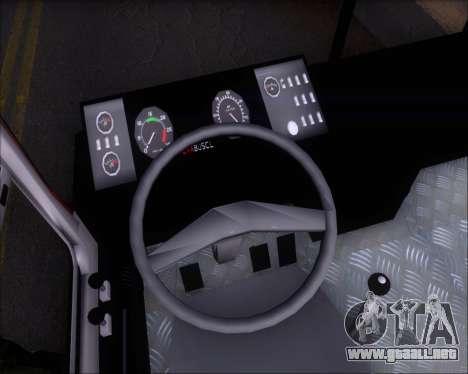 Ciferal GLS Bus Mercedes-Benz OH1420 para visión interna GTA San Andreas