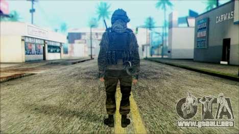 Los soldados aerotransportados (CoD: MW2) v5 para GTA San Andreas segunda pantalla