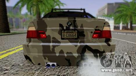BMW M3 E46 Coupe 2005 Hellaflush v2.0 para la visión correcta GTA San Andreas
