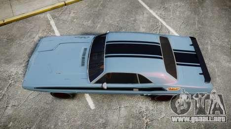 Dodge Challenger 1971 v2.2 PJ2 para GTA 4 visión correcta