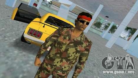 Camo Skin 09 para GTA Vice City tercera pantalla