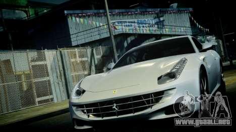 Ferrari FF 2011 v1.5 para GTA 4 vista desde abajo