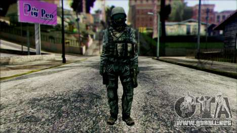 Fighter (PLA) v5 para GTA San Andreas