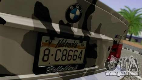 BMW M3 E46 Coupe 2005 Hellaflush v2.0 para visión interna GTA San Andreas