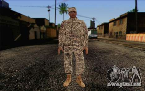 California National Guard Skin 4 para GTA San Andreas