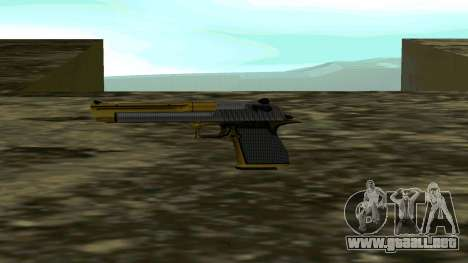 Gold Deagle para GTA San Andreas segunda pantalla
