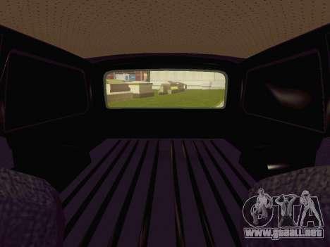 GAS-24-12 coche fúnebre para GTA San Andreas vista hacia atrás