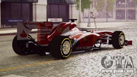 Ferrari F138 v2 para GTA 4 left