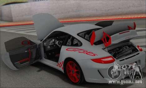 Porsche 911 GT3 2010 para GTA San Andreas interior